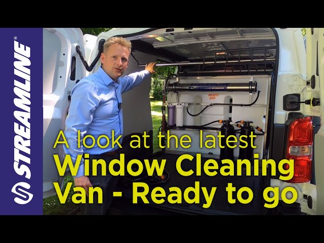 Window Cleaning Van - Ready to go