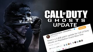 CALL OF DUTY GHOSTS HAS AN UPDATE!?!? RETURNING TO CALL OF DUTY GHOSTS IN 2018!