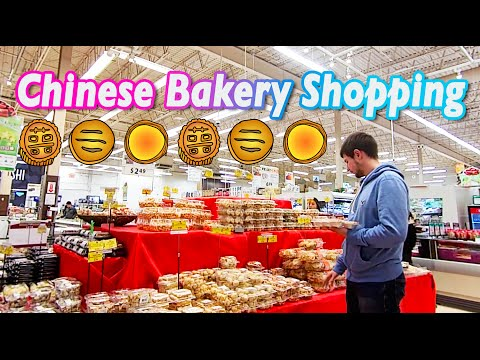 ASIAN BAKERY SHOP - Toronto Canada Vlog