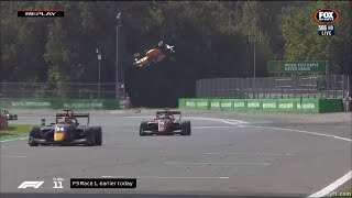 F3 Monza 2019 - Alexander Peroni Huge Crash (Full-Speed Replay)