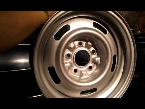 Gm Rally Wheels Paint Color
