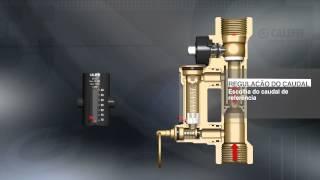 Dispositivos para balanceamento circuitos - válvula Venturi, caudalímetro, autoflow, regulador ΔP