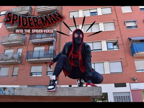 SPIDERMAN MILES MORALES COSPLAY - INTO THE SPIDERVERSE