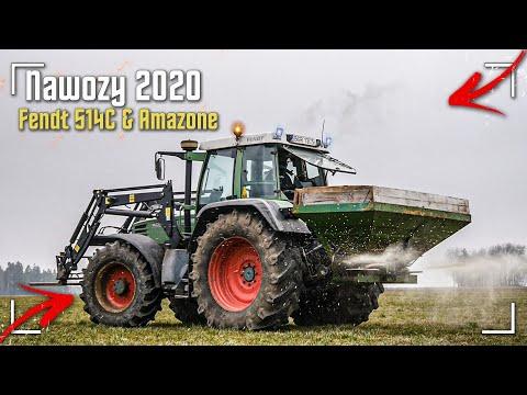 Nawozy 2020 ! ☆ Fendt Favorit 514C & Amazone ✔ PwO Team W Akcji !☆ Włókowanie 2020 ! ☆ [WIOSNA]