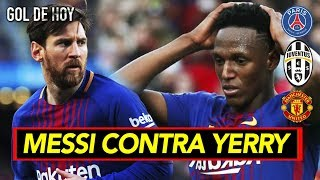 Qu regao le meti Messi a Yerry Mina I Resumen jornada europea