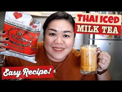 How to make boba thai tea