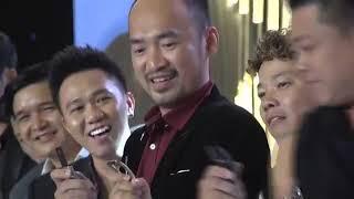 Trấn Thành, Trường Giang và các nghệ sĩ chung vui tại đám cưới đạo diễn Nhất Trung