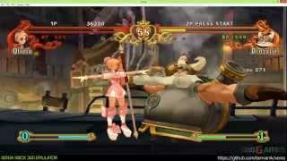 Xenia Xbox 360 Emulator - Battle Fantasia Ingame!
