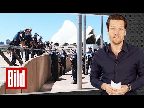 Sydney Geiselnahme - Top Fakten - BILD