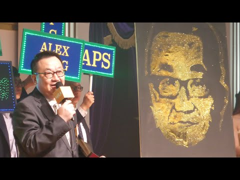 Speed Painting Act in Hong Kong