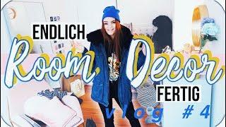 Mein Zimmer ist fertig! - Room Decor Vlogs #4 // I