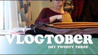 Short & Sweet & Sewing   Vlogtober Day Twenty Three