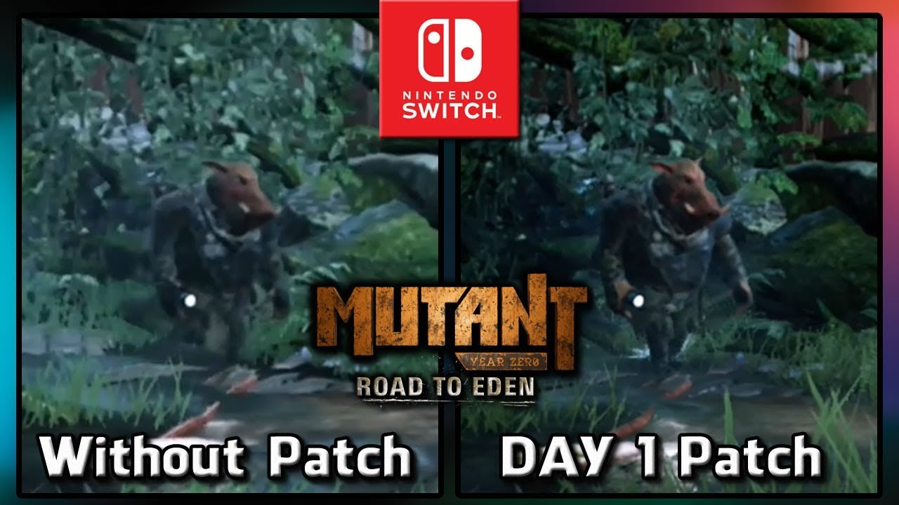 Mutant Year Zero: Road to Eden | DAY 1 Patch Gameplay on Nintendo Switch