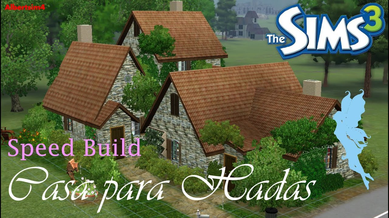 Los sims 3 speed build casas para hadas youtube - Casitas en el bosque ...