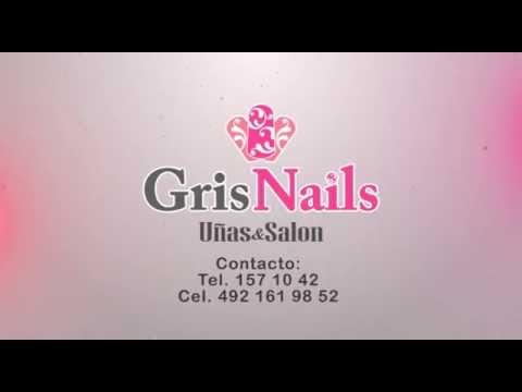 Spot Gris Nails Zacatecas