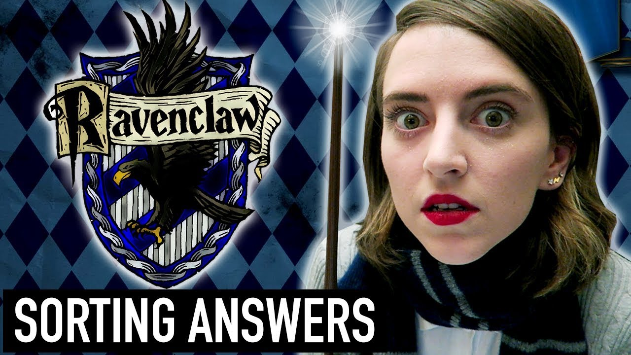 Full Pottermore Hogwarts House Sorting Quiz (RAVENCLAW ANSWERS) | How To  Get Sorted Into Ravenclaw