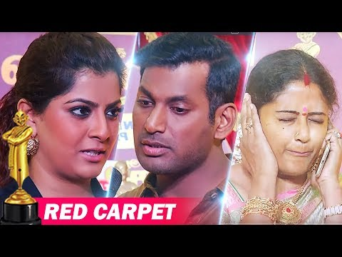 Ananda Vikatan Cinema Awards 2018 - Red Carpet