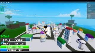 Un nouveau jeux roblox qui plutôt bien ! Roblox Dragon ball Ultimate