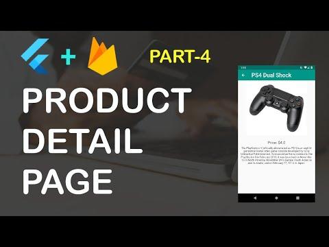 Flutter Ecommerce App Part 4 (Product Detail Page)