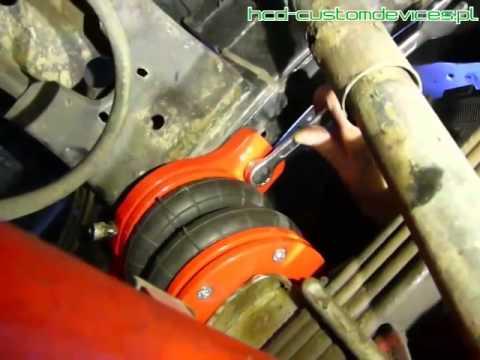 Ogromny How to: Zawieszenie pneumatyczne do pickupa (pickup air ride KM33