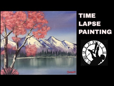 Blossom Tree Painting Time Lapse (2018)