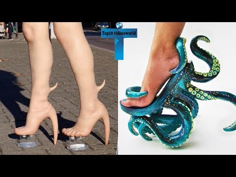 Top 10 Most Bizarre & Odd Shoes You Have Never Seen Weird & Strange Shoes
