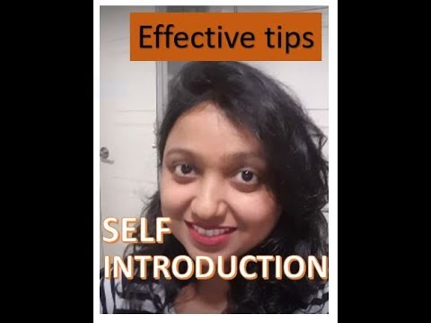 IELTS- Introduce yourself, self introduction
