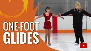 Ice Skating Tips - How to do One-Foot Glides
