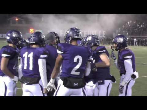 Fayetteville Bulldogs vs Bentonville Tigers SFPlayoff 11-25-2016