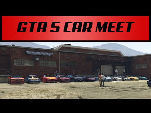 GTA 5 Online: Car Show/ Meet Series- Episode 16 Slammed Society