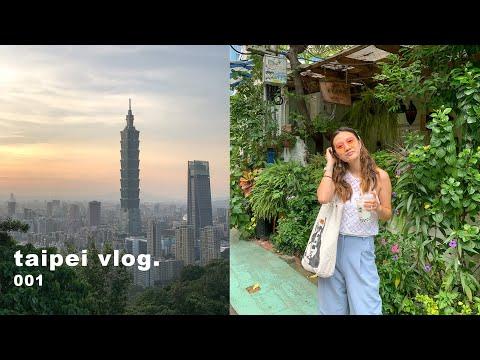 taipei, taiwan post quarantine vlog! | new friends, what i eat, catching up☁️✨
