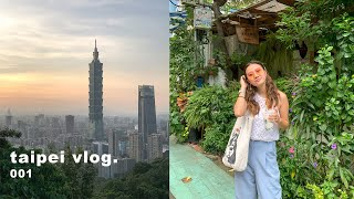 taipei, taiwan post quarantine vlog! | new friends, what i eat, catching up☁️✨
