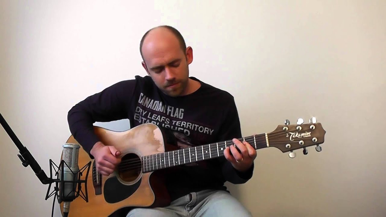 help beatles acoustic guitar solo cover vi with loop