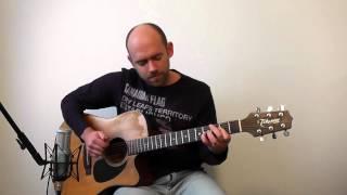 Help (Beatles) - Acoustic Guitar Solo Cover (Violão Fingerstyle)
