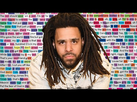 Download J. Cole - LA Leakers Freestyle | Rhymes Highlighted