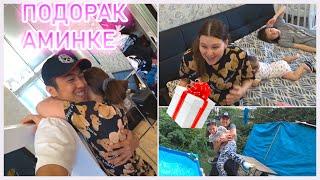 Подарок Аминке / Неделя с длинными волосами / Пранк над сестренками / Влог #1
