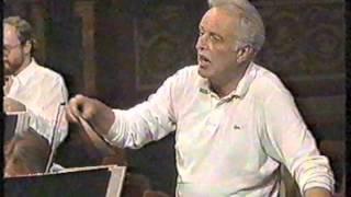 Carlos Kleiber - Probe / rehearsal - Unter Donner und Blitz