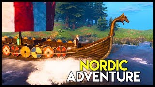 """Free to Play"" Nordic Viking Survival Adventure! - Valheim Gameplay : Part 1"