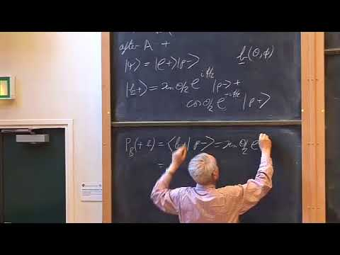 Oxford   Lecture 17 Einstein Podolski Rosen Experiment and Bell's Inequality