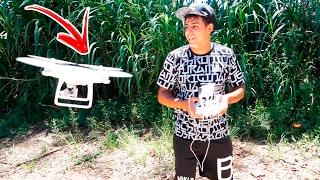 MEU NOVO DRONE PHANTOM 4 😄