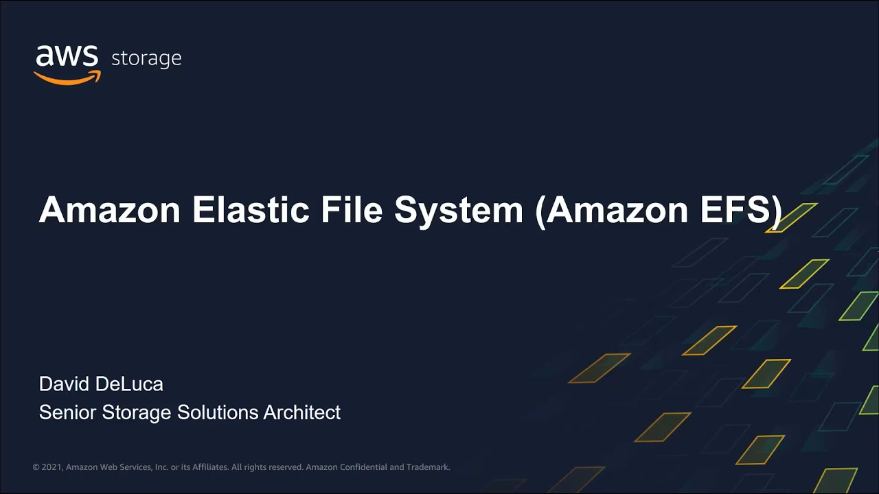 Amazon EFS File System Creation, Mounting & Settings