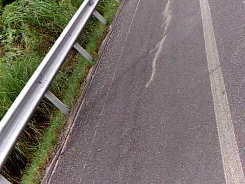 Honda CB 400 Hyper V-tec III at 190 kmh