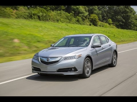 2016 Acura TLX Start Up And Review 2.4 L 4-Cylinder