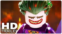THE LEGO BATMAN MOVIE Trailer 1 - 3 German Deutsch | Filme 2017