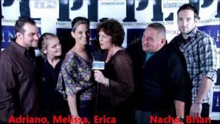 "Cast Of ""irish Whisper"" At Newbury Street League Holiday Tree Lighting 11-15-2011"