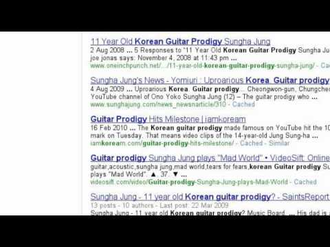 SUNGHA JUNG | Google Search Stories