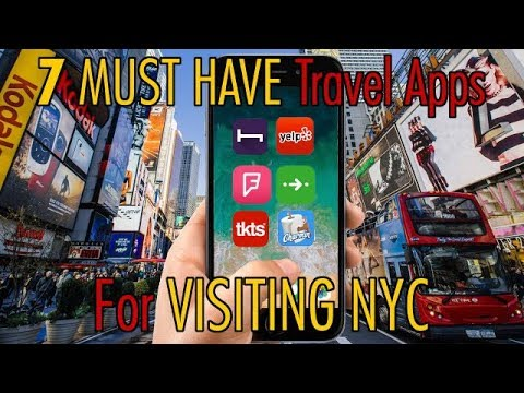 Visiting New York City ? - 7 MUST HAVE Phone Apps !