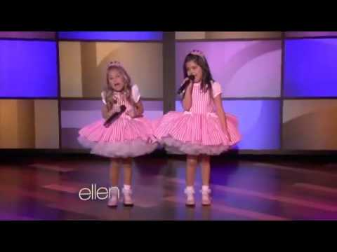 "Sophia Grace And Rosie ""I Knew You Were Trouble"""