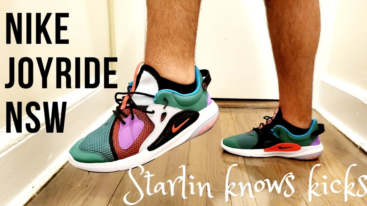 Early Look At Nike Joyride Cc Nsw On Feet Review Youtube