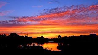 Очень Красивый Закат. Красивое Небо на Закате Видео. Футаж Красивый Закат. Футажи для видеомонтажа